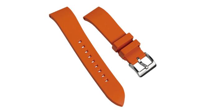 zuldiver rubber watch strap