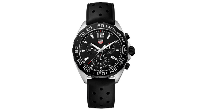 Tag Heuer Formula 1 rubber watch strap