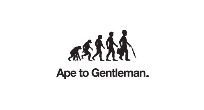 ape to gentleman