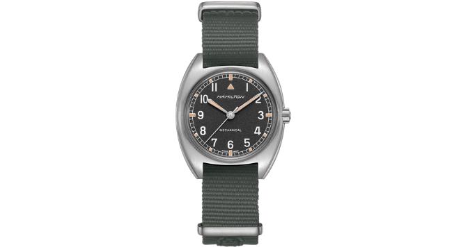 Hamilton, Khaki Aviation Pilot Pioneer Fabric Strap Watch