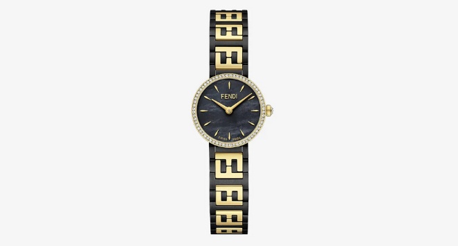 fendi black watches for women