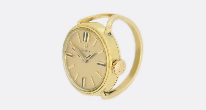 omega ring watch