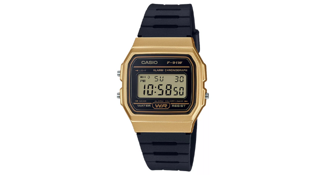 Casio, Unisex Vintage Casual Resin Strap Watch 80s watches