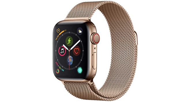 Apple, Apple Watch Series 4 40mm Stainless Steel Bronze Gold