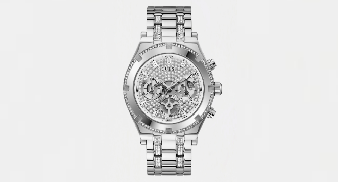 Guess, Crystal Multifunction Watch