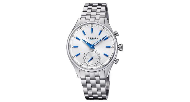 Kronaby, S3121-1 Men's Sekel Smartwatch Silver Tone Dial