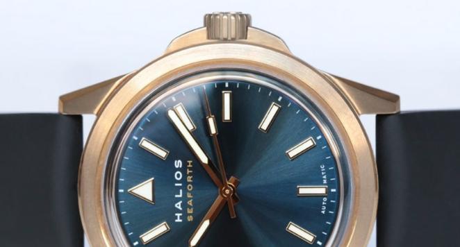 HALIOS, Seaforth Bronze Blue Dial