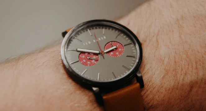 Ted Baker watch on a wrist