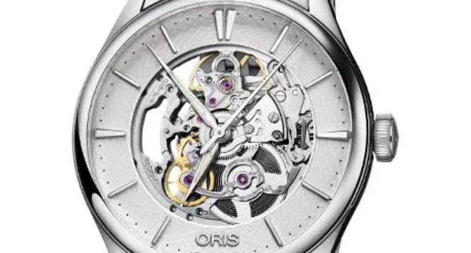 Oris Artelier, Skeleton Mens Watch 01 734 7721 4051-07 8 21 79