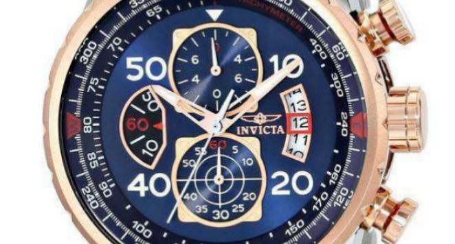 Invicta, Aviator 17203 Men's Quartz Watch, 47 mm