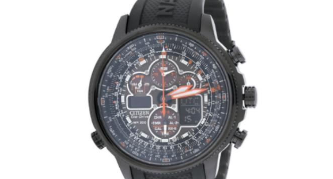 Citizen, JY8035-04E Men's Eco-Drive Navihawk Atomic Timekeeping Watch