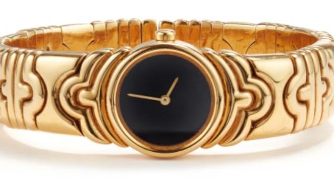 Bulgari, Yellow Gold Bracelet Watch