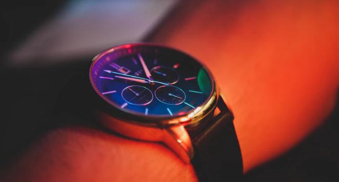 chronograph on a wrist