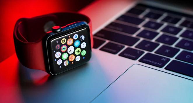 apple watch on computer