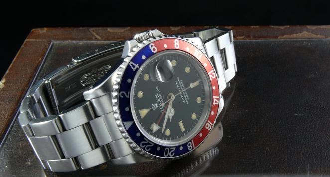 Rolex GMT watch