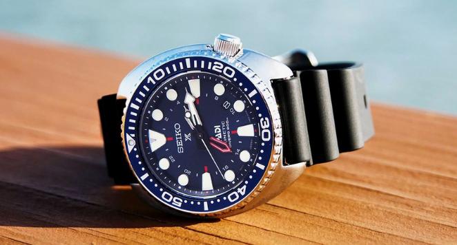 Seiko GMT watch