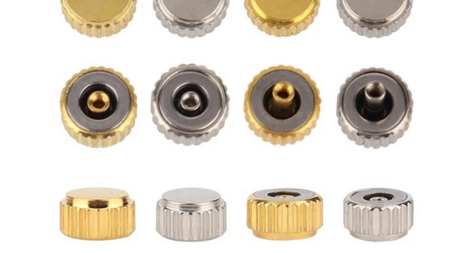 different types of watch crowns