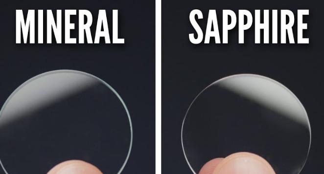 mineral vs sapphire watch glass