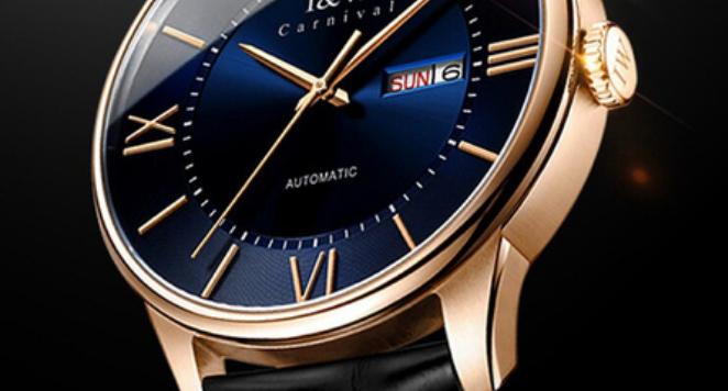 I&W automatic sapphire crystal watch