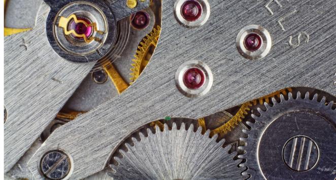 jewels in mechanism