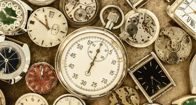 different types of vintage watches