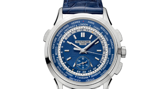 Patek Philippe, World Time Chronograph