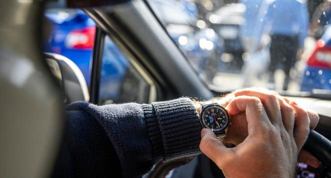 driving inspired watches