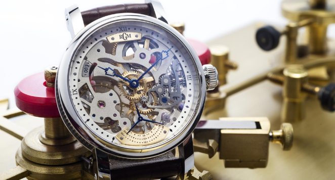 Skeleton Watch Dial