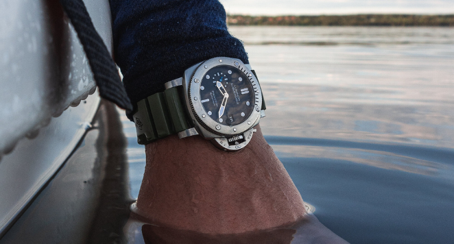 Watch on the water